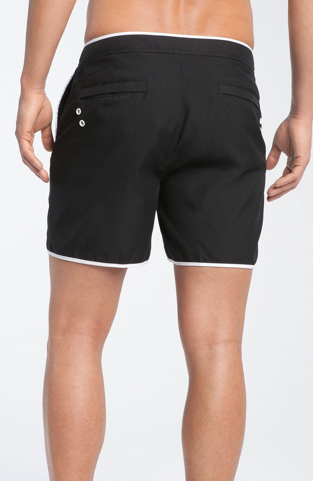 Alternate Image 2  - Original Penguin Solid Volley Swim Shorts