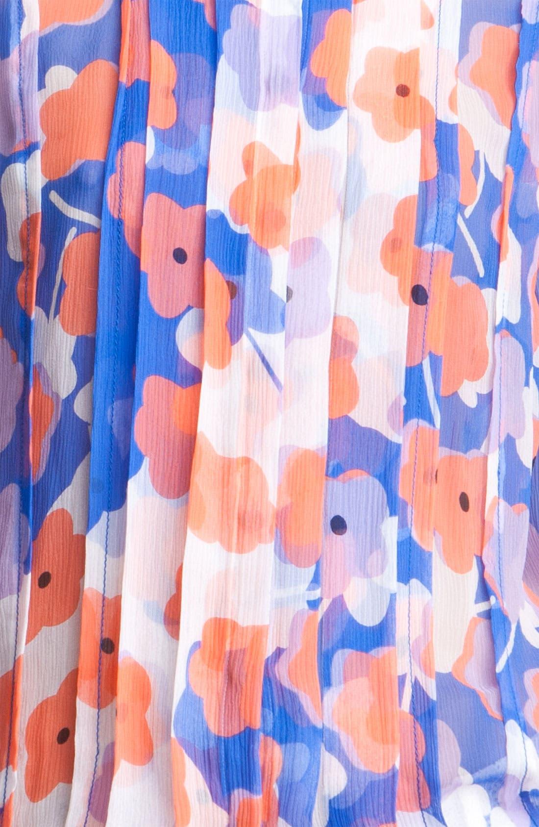 Alternate Image 3  - Diane von Furstenberg 'Francesca' Sheer Print Silk Blouse