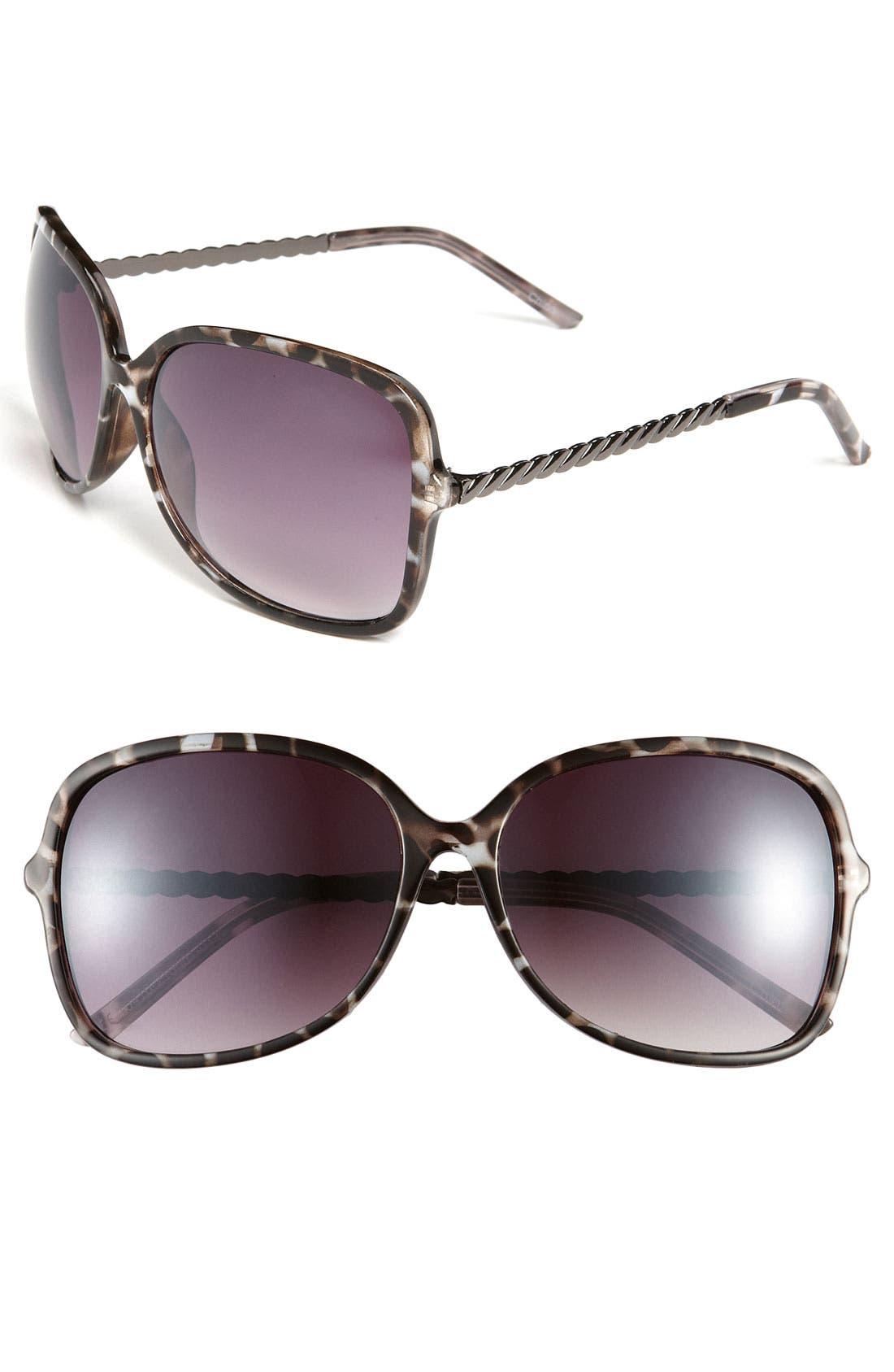 Alternate Image 1 Selected - Icon Eyewear 'Kelli' Oversized Sunglasses