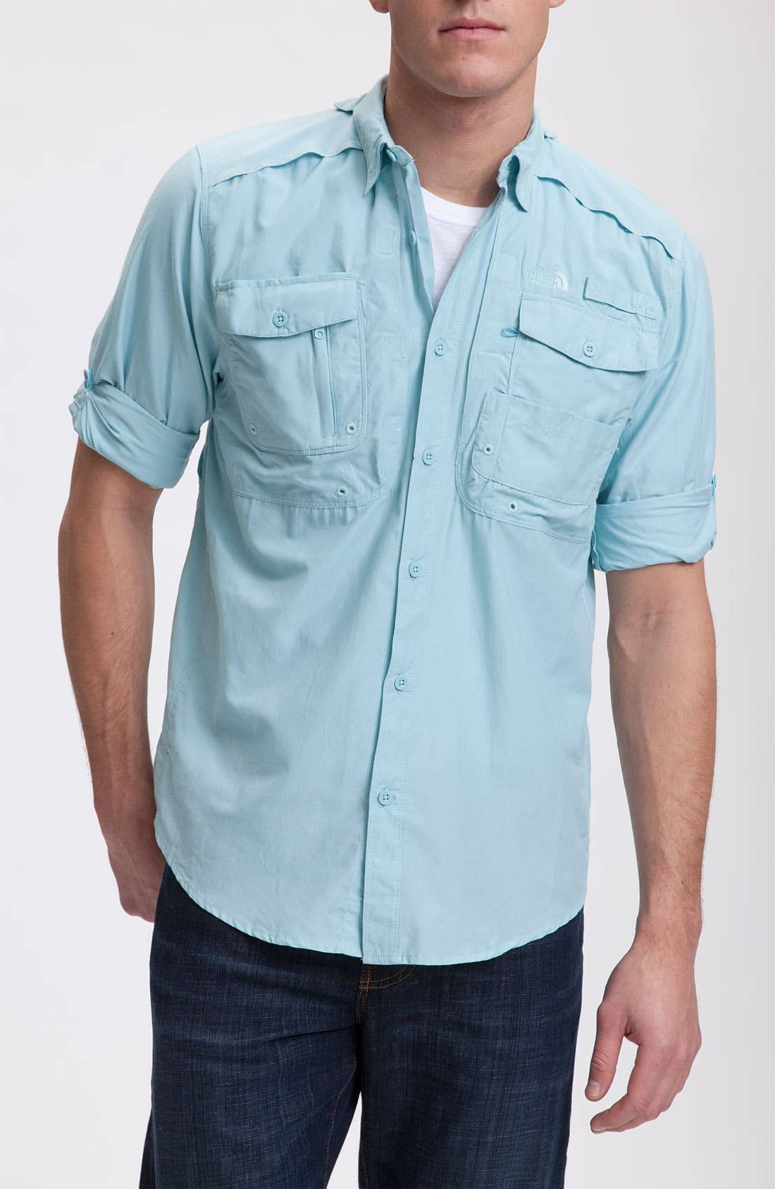 Alternate Image 1 Selected - The North Face 'Pollock' Woven Shirt