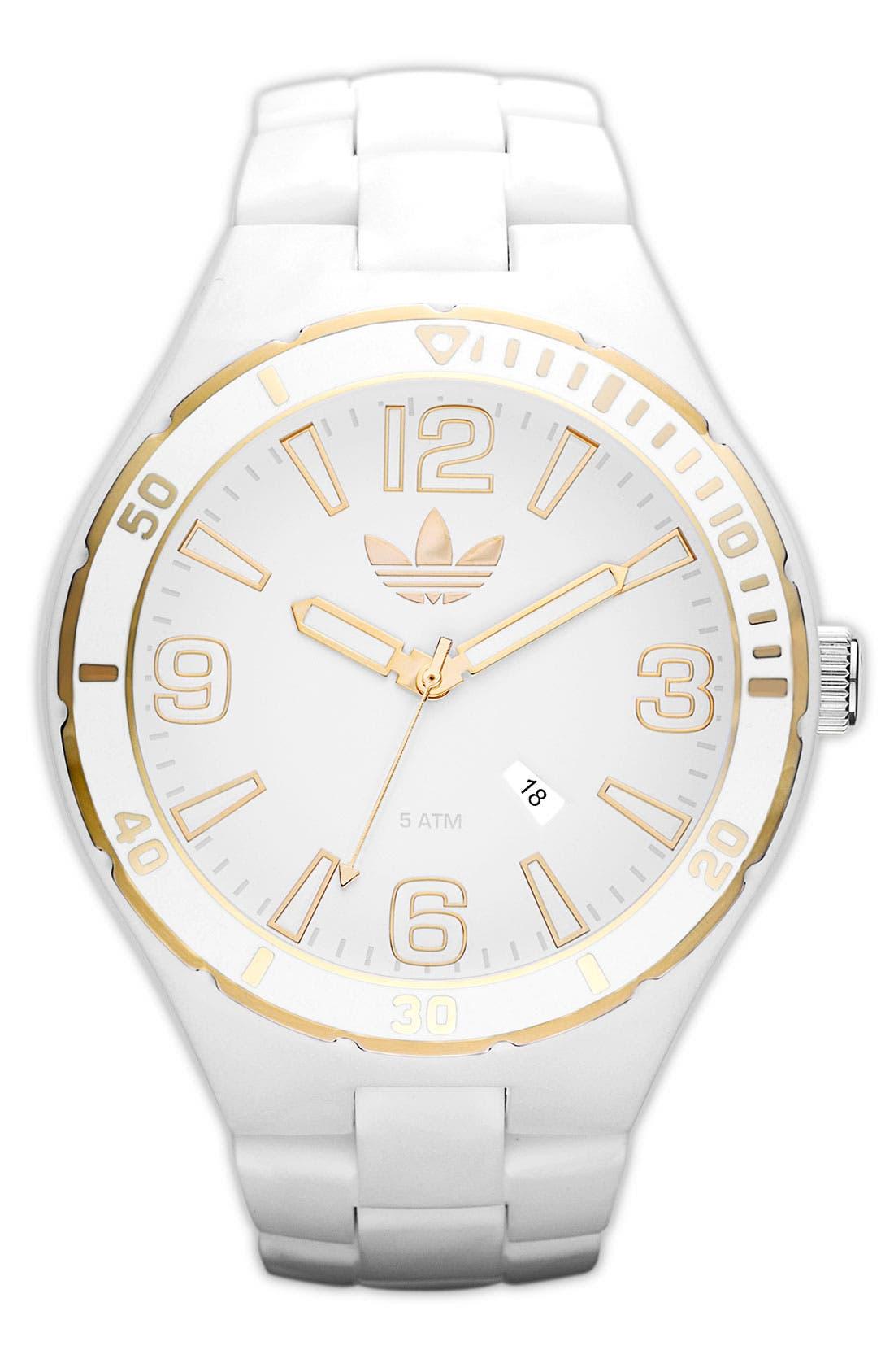 Main Image - adidas 'Melbourne' Round Dial Bracelet Watch