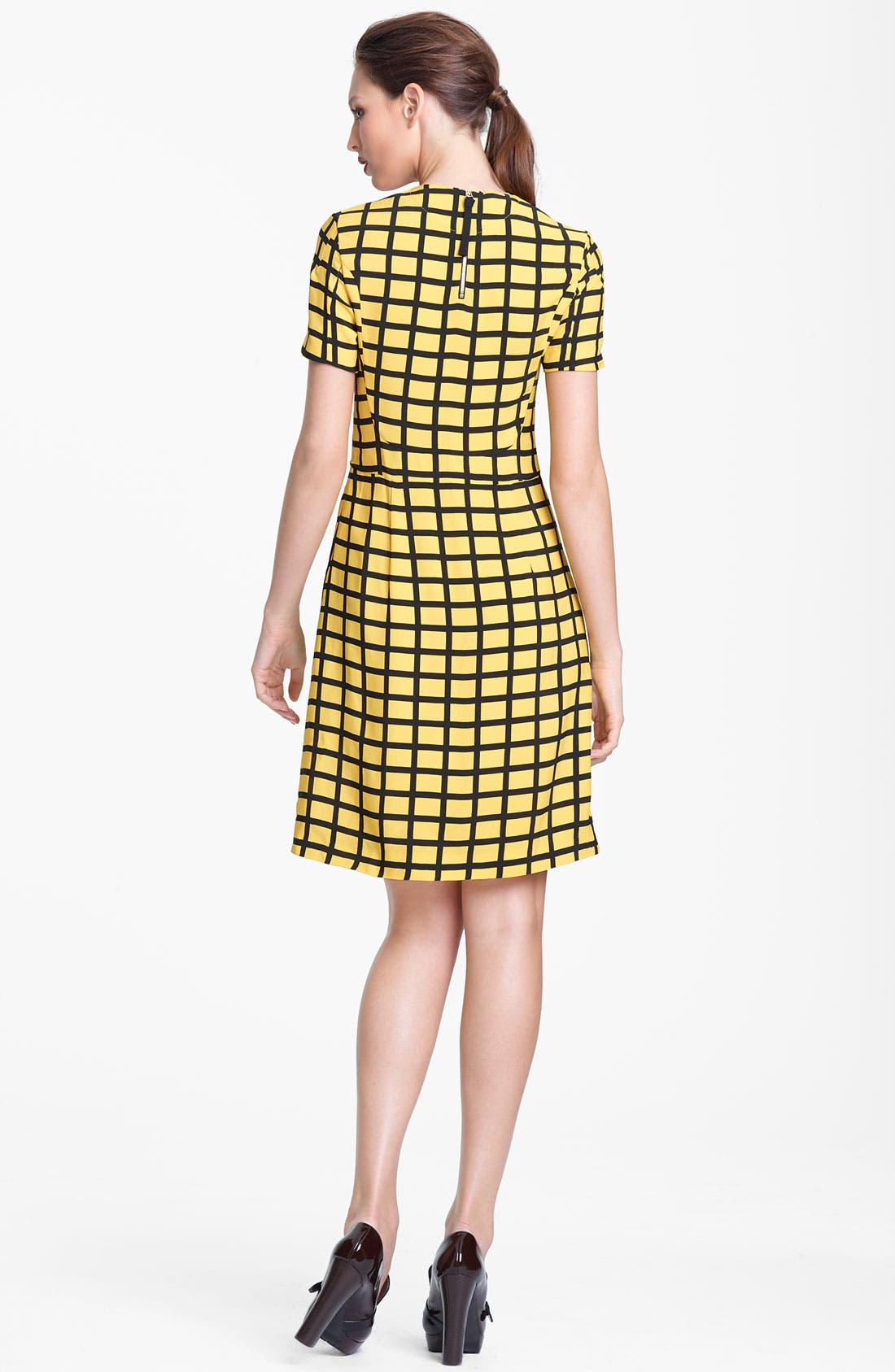 Alternate Image 2  - Marni Edition Grid Print Woven Dress