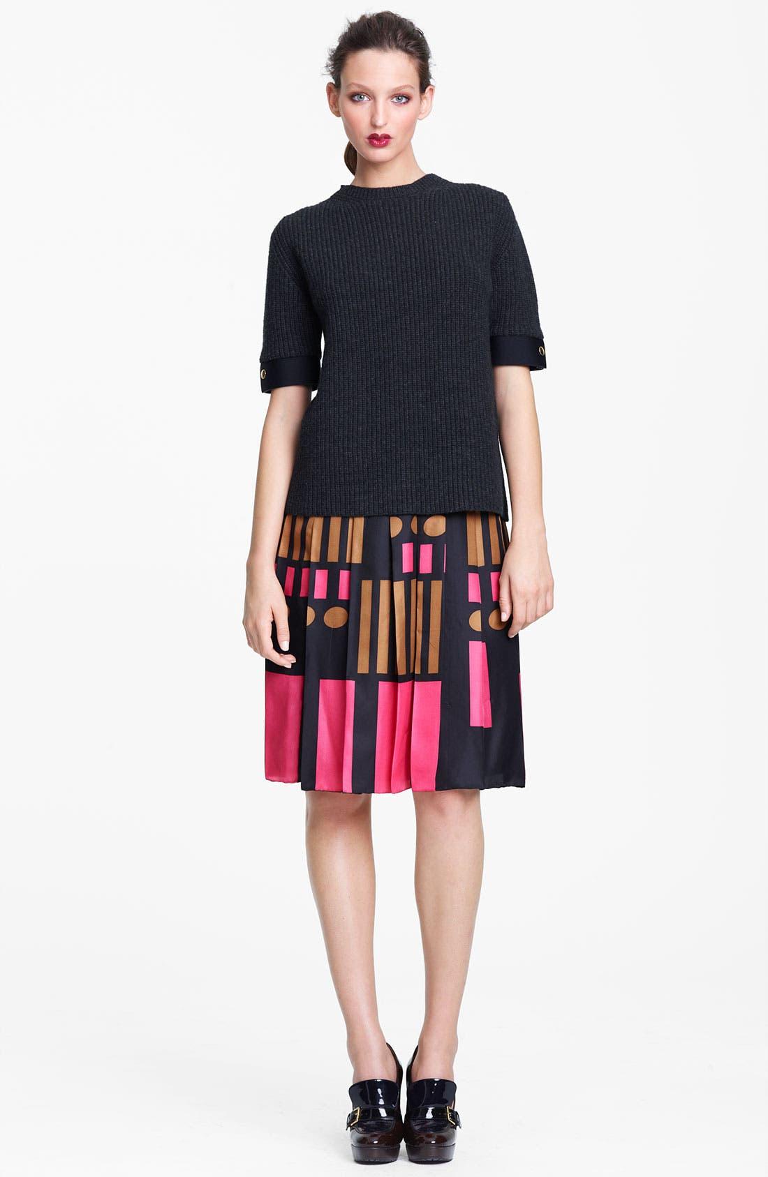 Alternate Image 2  - Marni Print Foulard Skirt