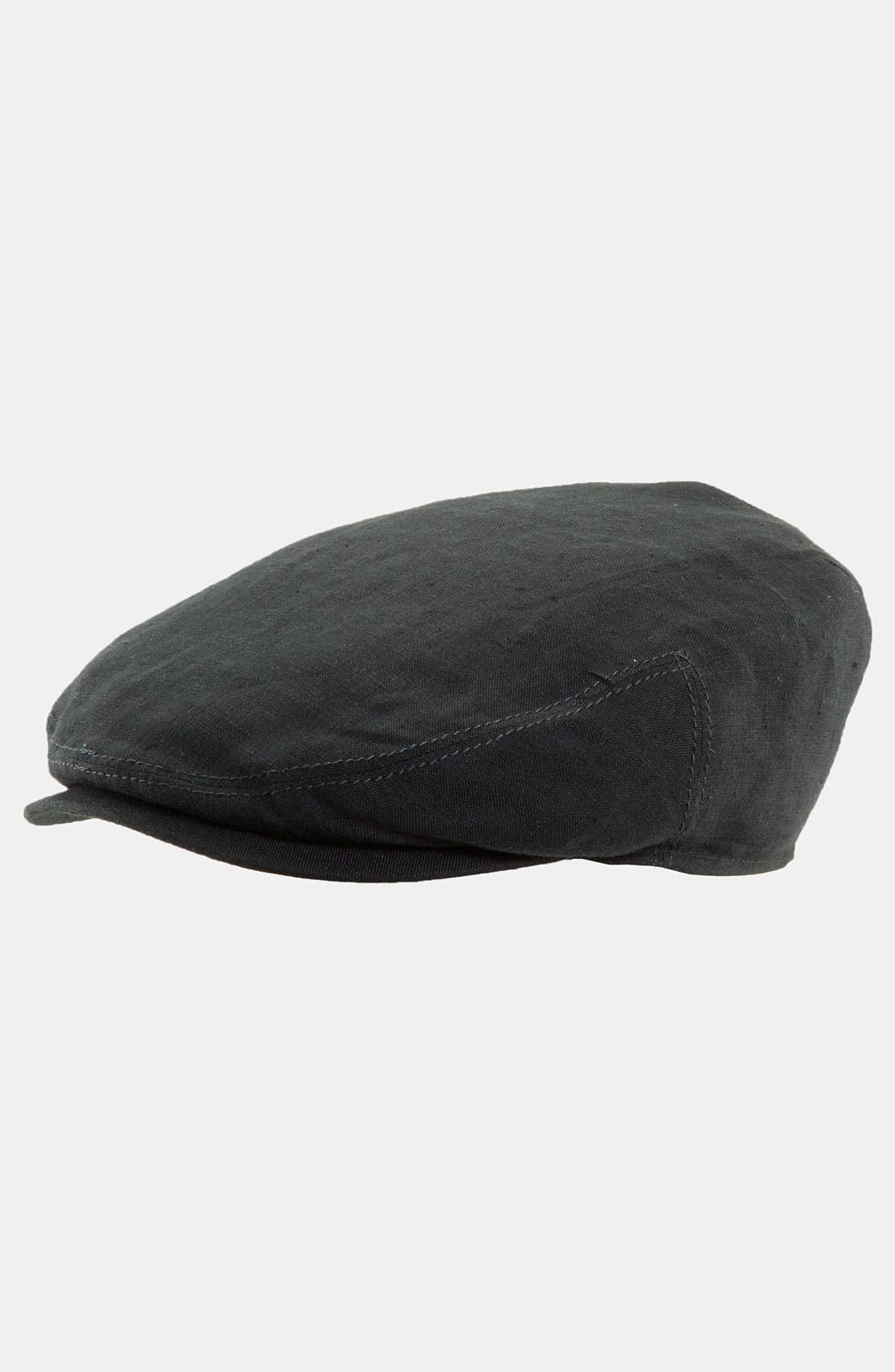 Alternate Image 1 Selected - Stetson 'Ivy' Linen Driving Cap