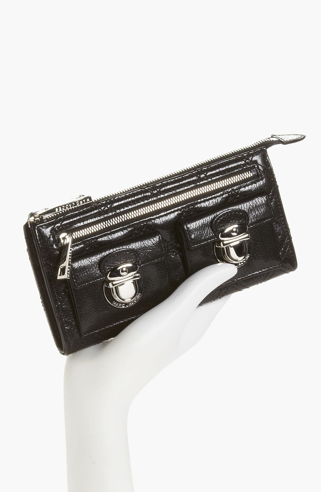 Alternate Image 4  - MARC JACOBS 'Zip Deluxe' Leather Wallet