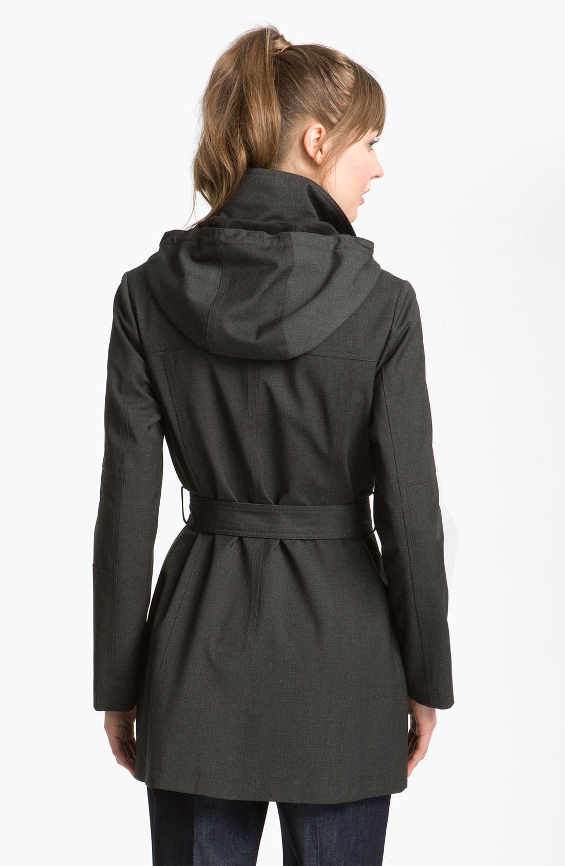 Alternate Image 2  - Kristen Blake Belted Coat