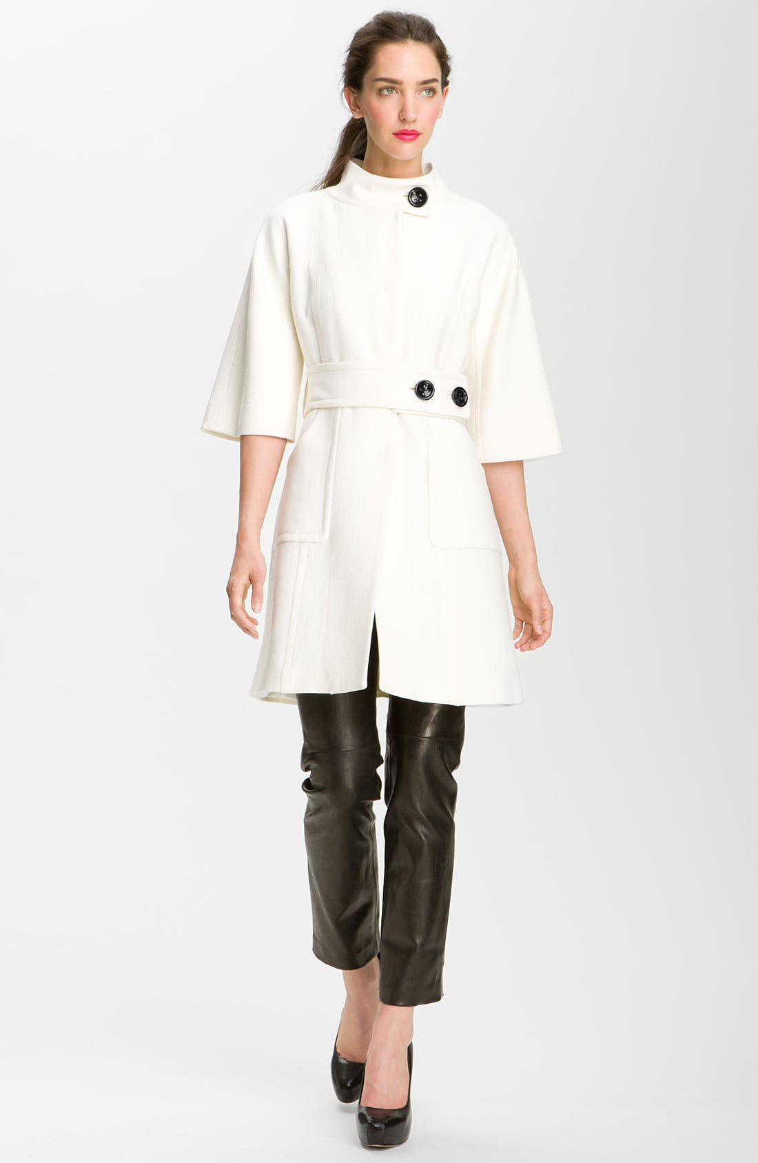 Alternate Image 3  - Milly 'Irena' Belted Coat