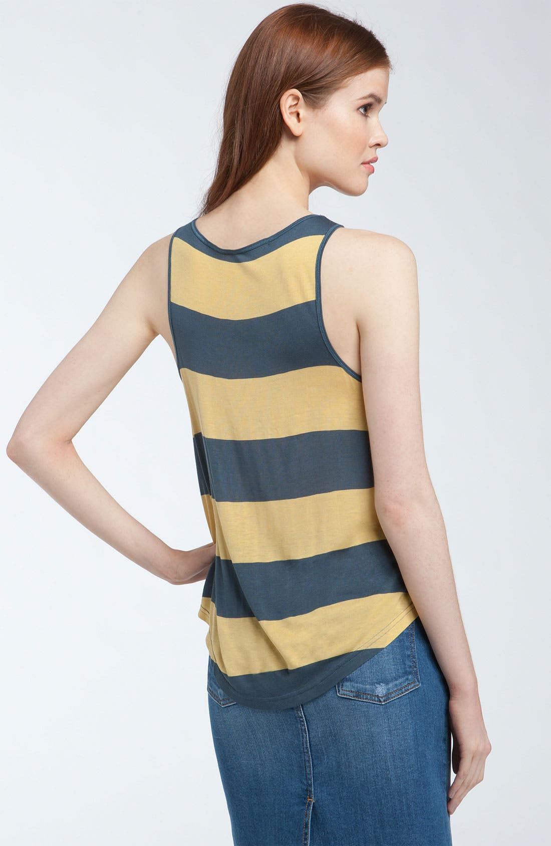 Alternate Image 2  - Kensie 'Bold' Stripe Tank