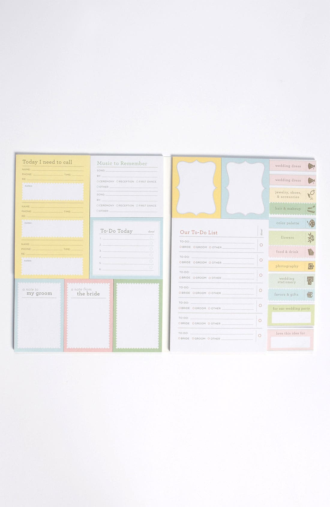 Alternate Image 2  - 'Bride Ideas' Sticky Notes