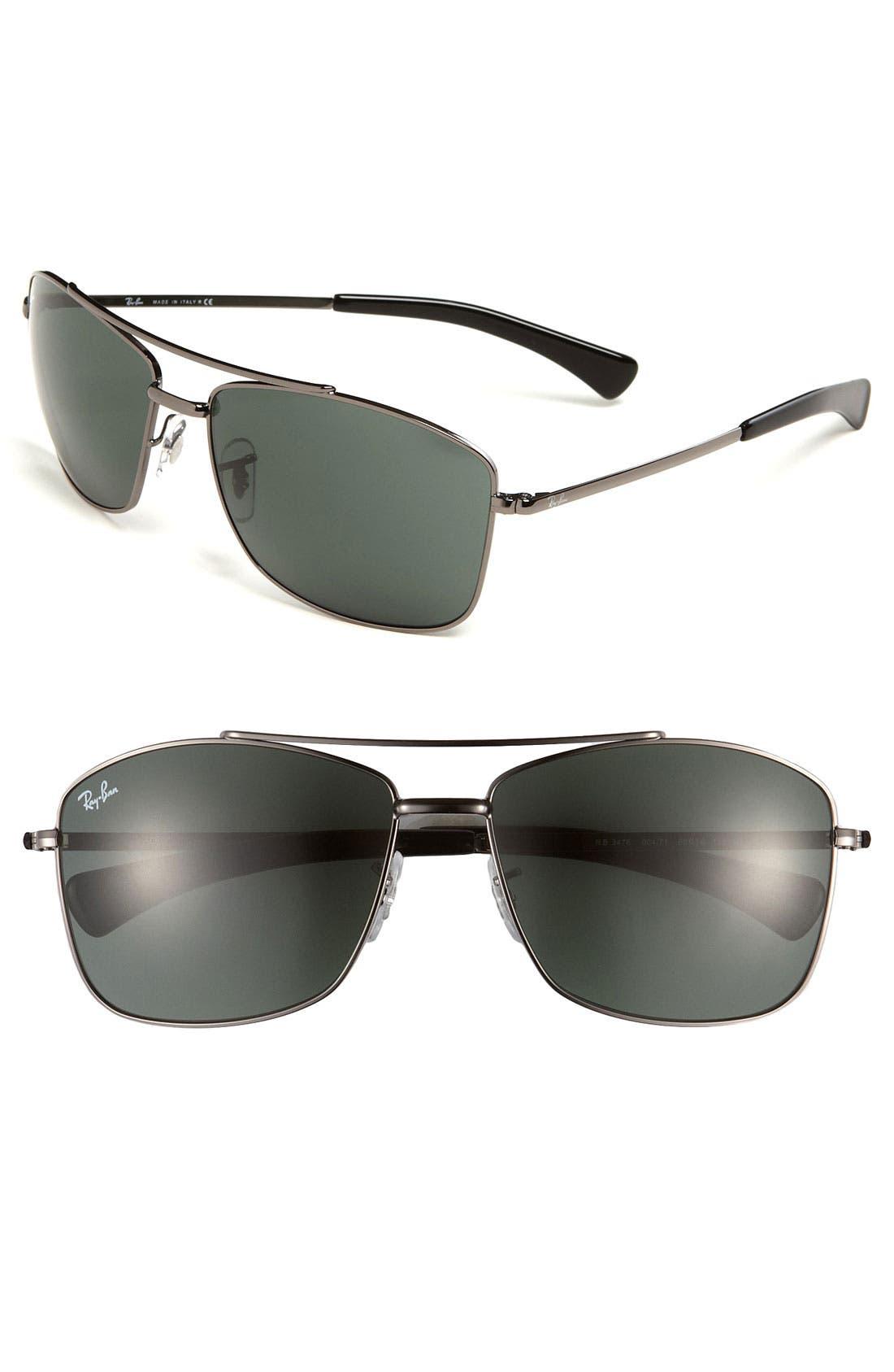 Alternate Image 1 Selected - Ray-Ban 60mm Aviator Sunglasses