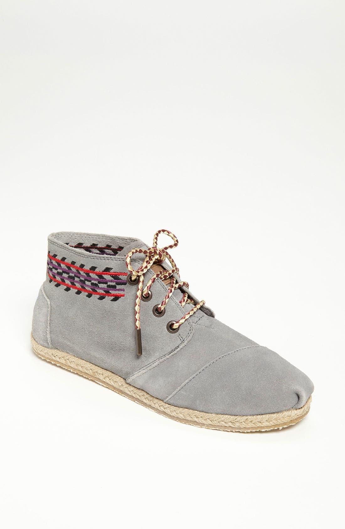 Alternate Image 1 Selected - TOMS 'Botas Desert - Alarco' Chukka Boot (Women)