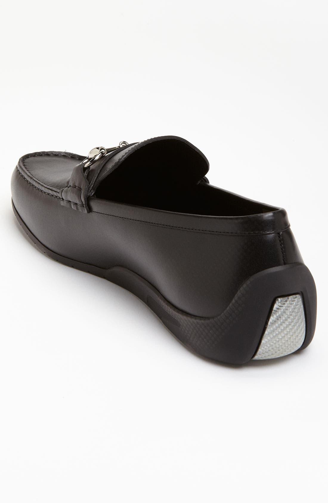 Alternate Image 2  - Gucci 'Silverstone' Moccasin Loafer