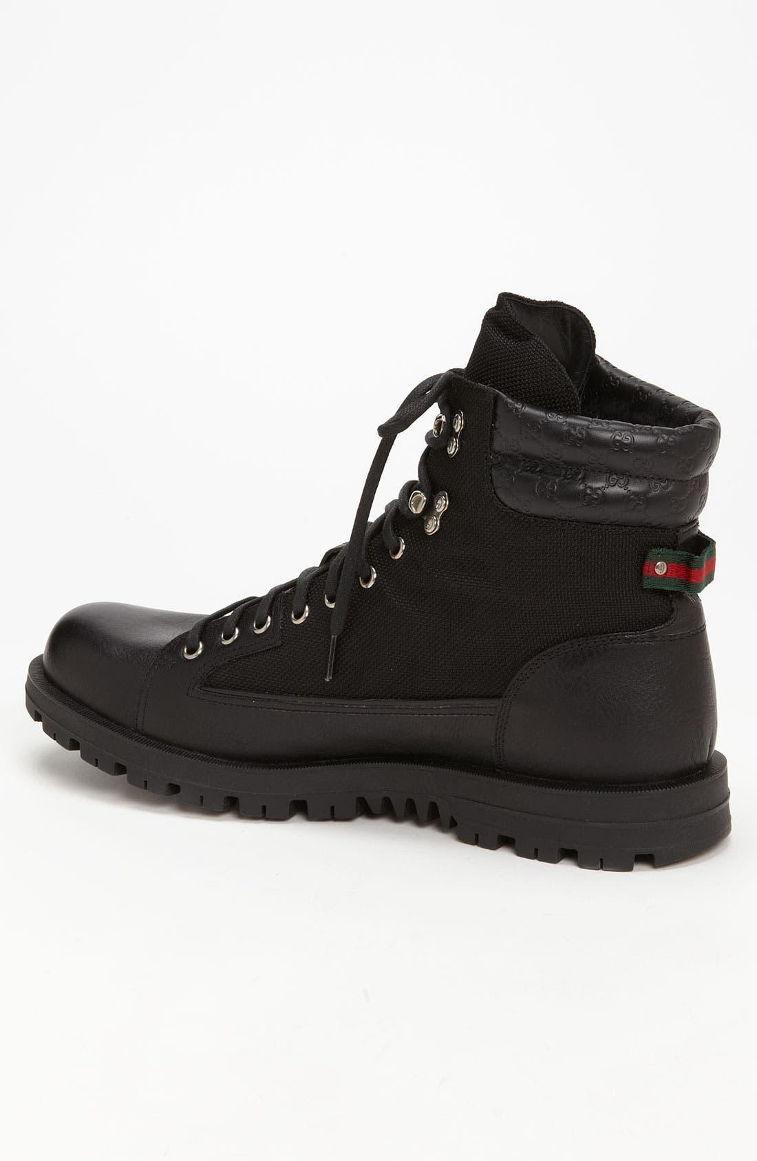 Alternate Image 2  - Gucci 'Meguro' Combat Boot