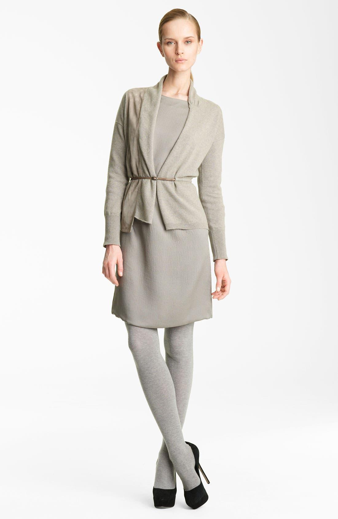 Alternate Image 2  - Fabiana Filippi Hammered Silk Dress