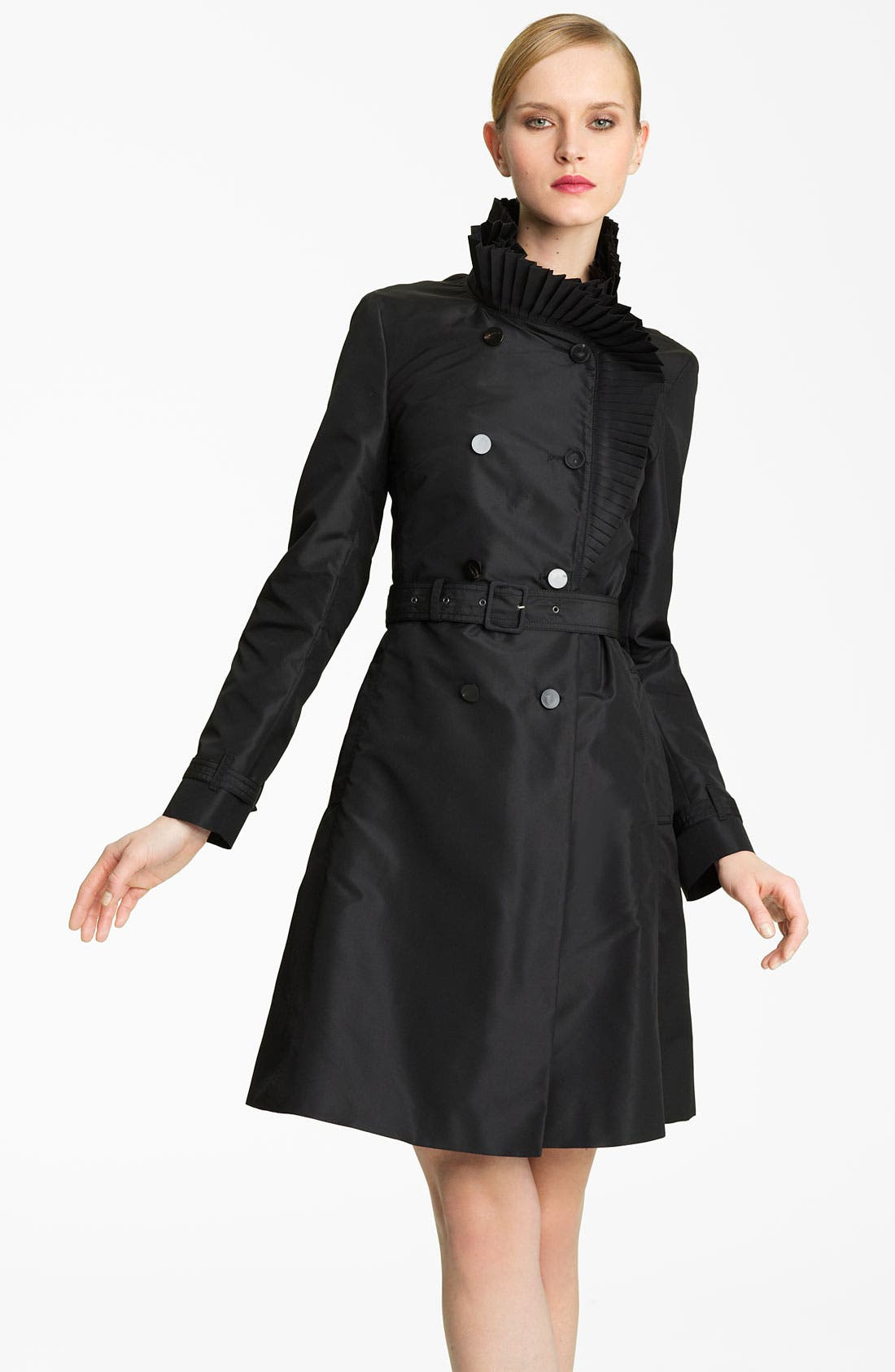 Main Image - Valentino Technical Faille Trench