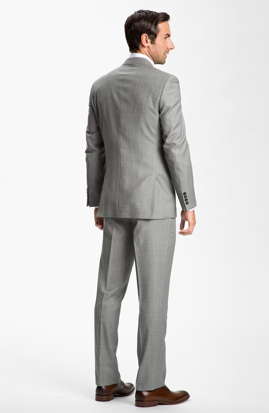 Alternate Image 2  - Ted Baker London Wool Suit & BOSS Black Dress Shirt