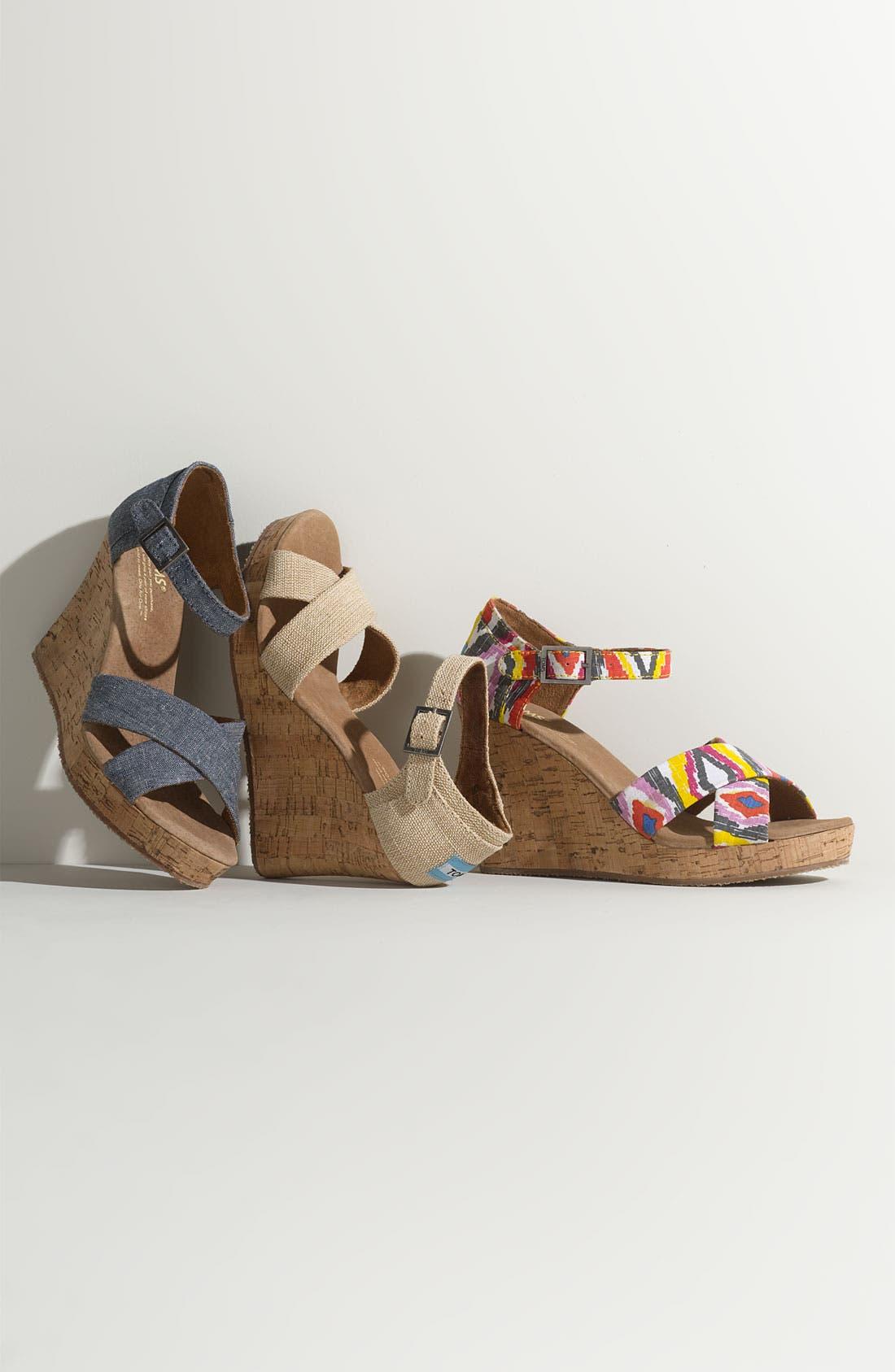 Alternate Image 6  - TOMS 'Sofie' Sandal