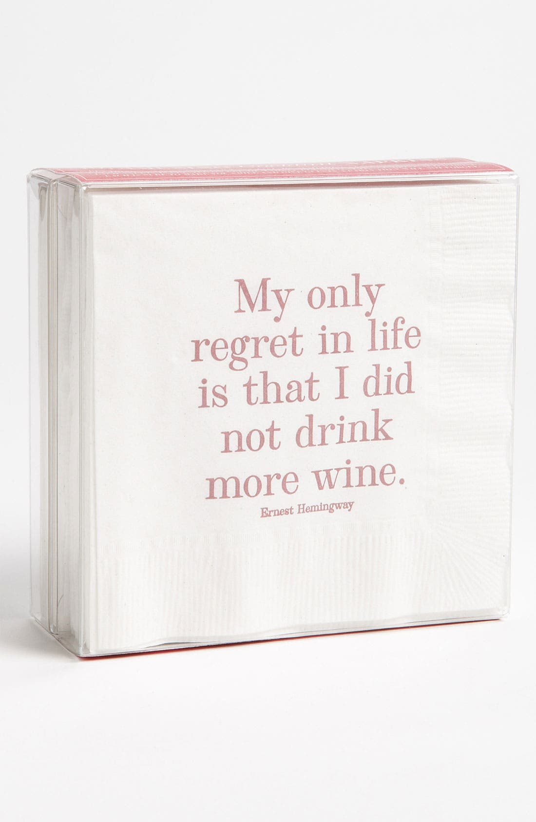 Alternate Image 1 Selected - Ben's Garden 'My Only Regret' Cocktail Napkins