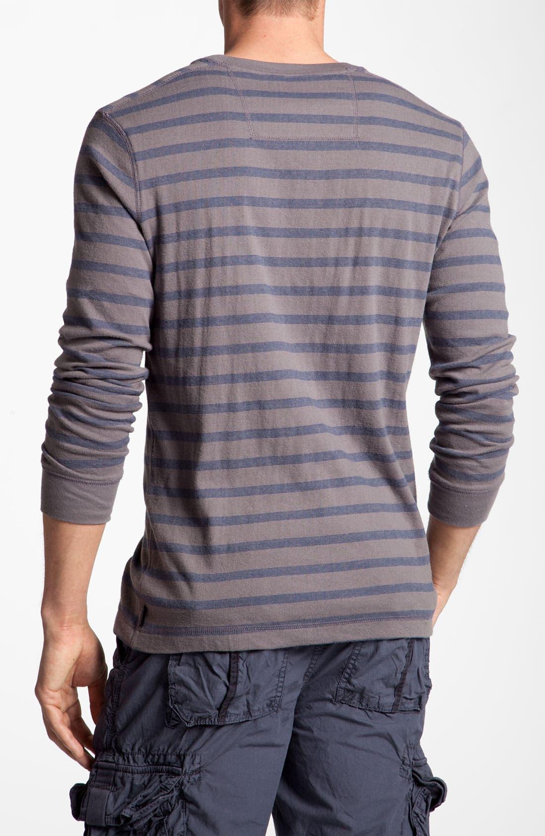 Alternate Image 2  - Quiksilver Knit Crewneck T-Shirt