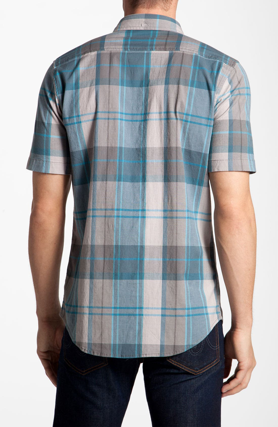 Alternate Image 2  - Quiksilver 'Space Signs' Woven Shirt