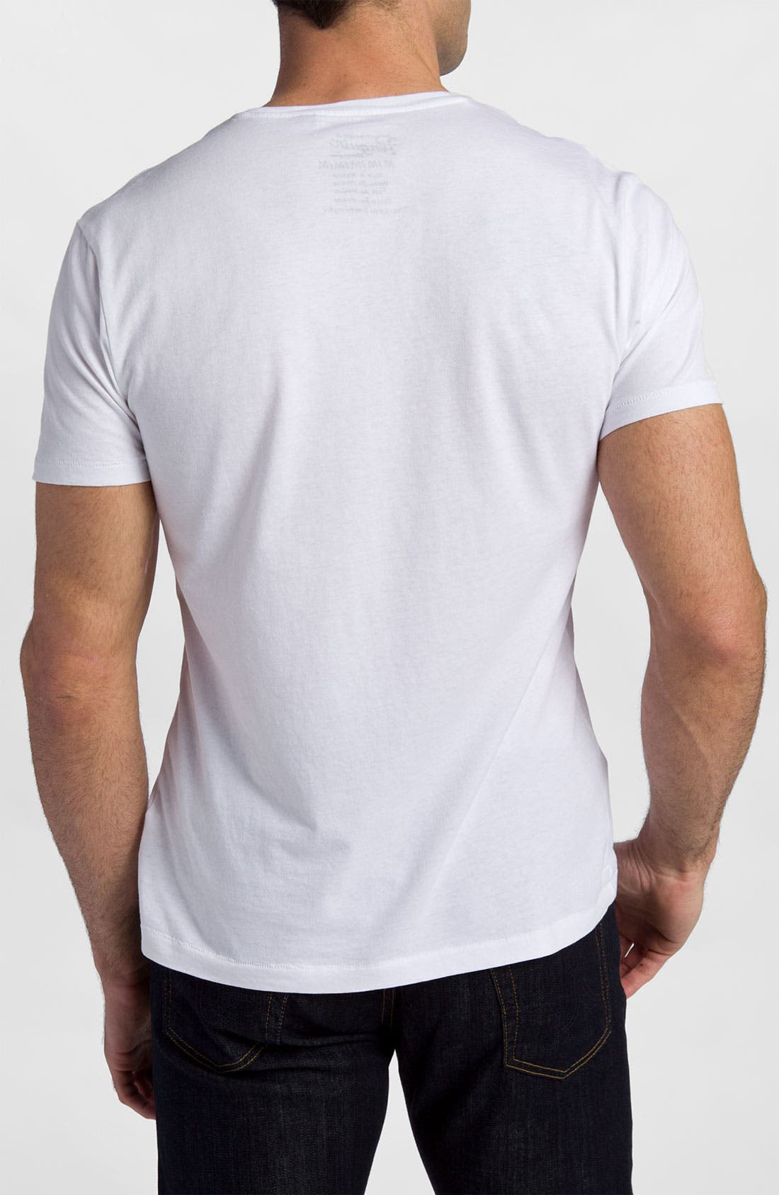 Alternate Image 2  - Original Penguin 'Script' V-Neck Graphic T-Shirt