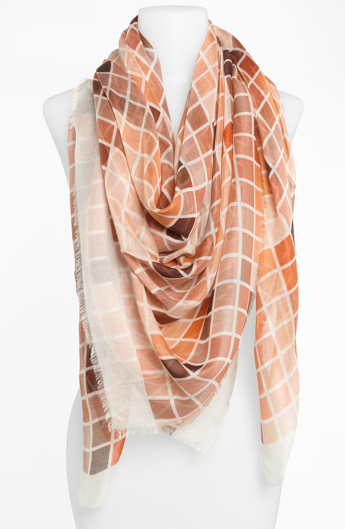 Main Image - Tarnish 'Blocks of Color' Scarf