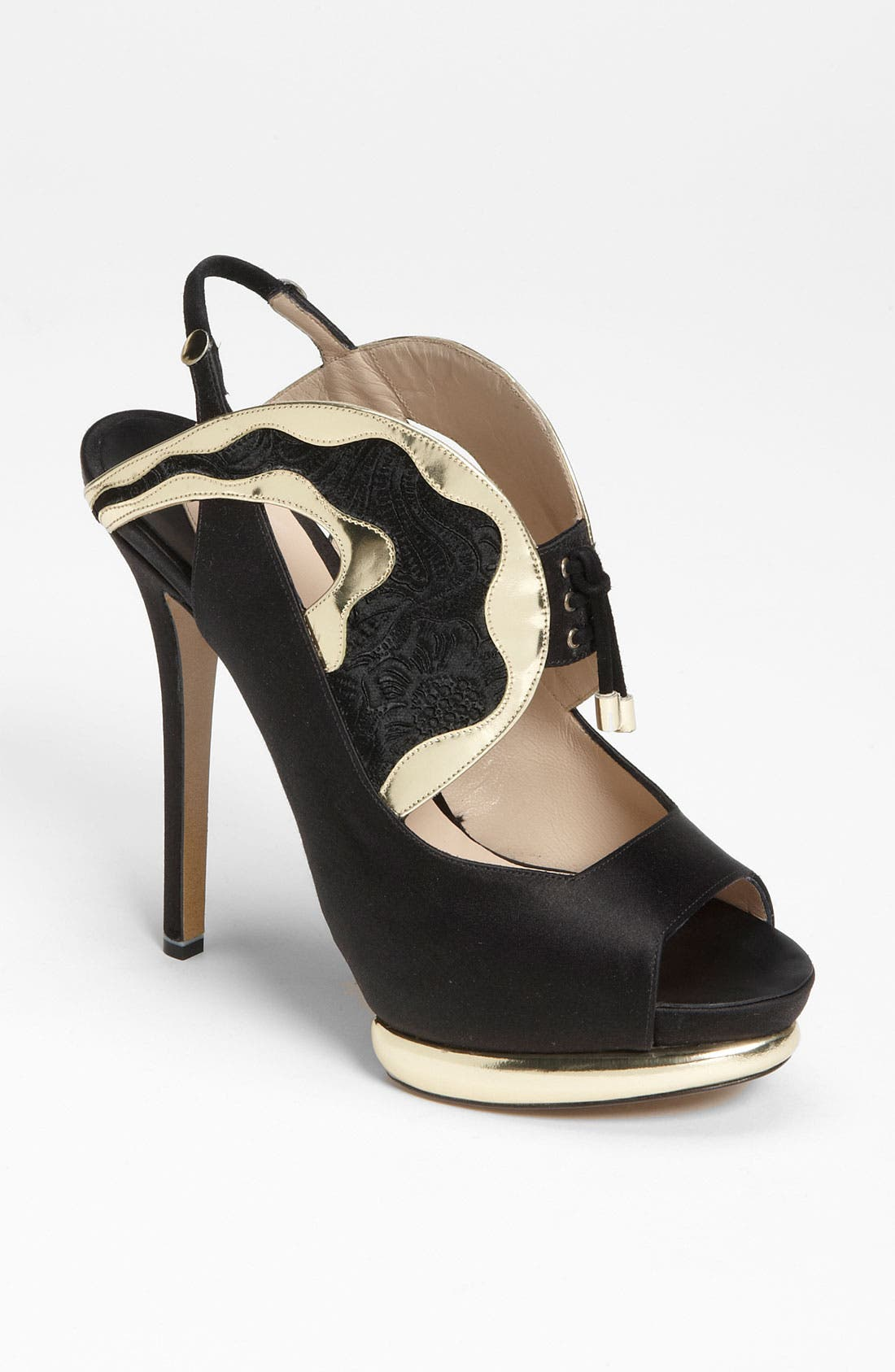 Alternate Image 1 Selected - Nicholas Kirkwood Peep Toe Sandal