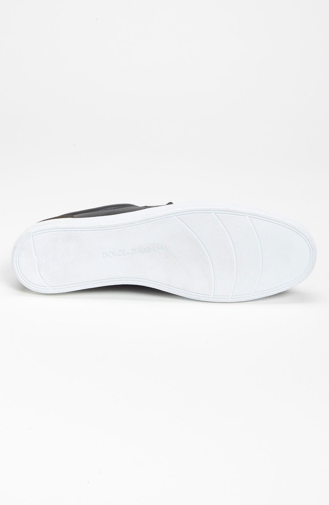 Alternate Image 4  - Dolce&Gabbana Loop Eyelet Sneaker