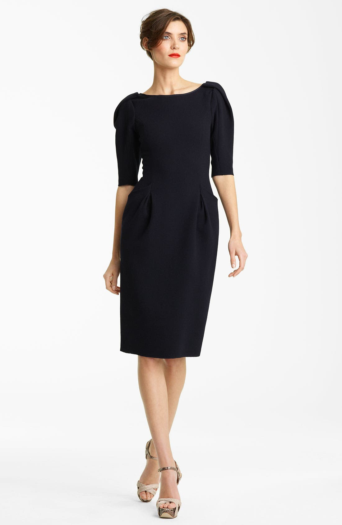 Main Image - Nina Ricci Wool Crepe Dress