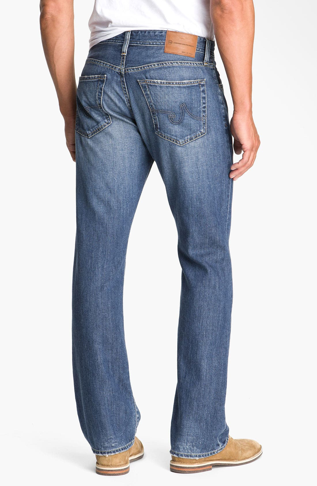 Alternate Image 1 Selected - AG 'Protégé' Straight Leg Jeans (Tate)