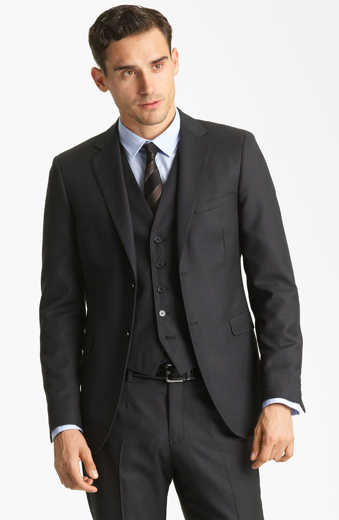 Alternate Image 1 Selected - Dolce&Gabbana Three Piece Suit