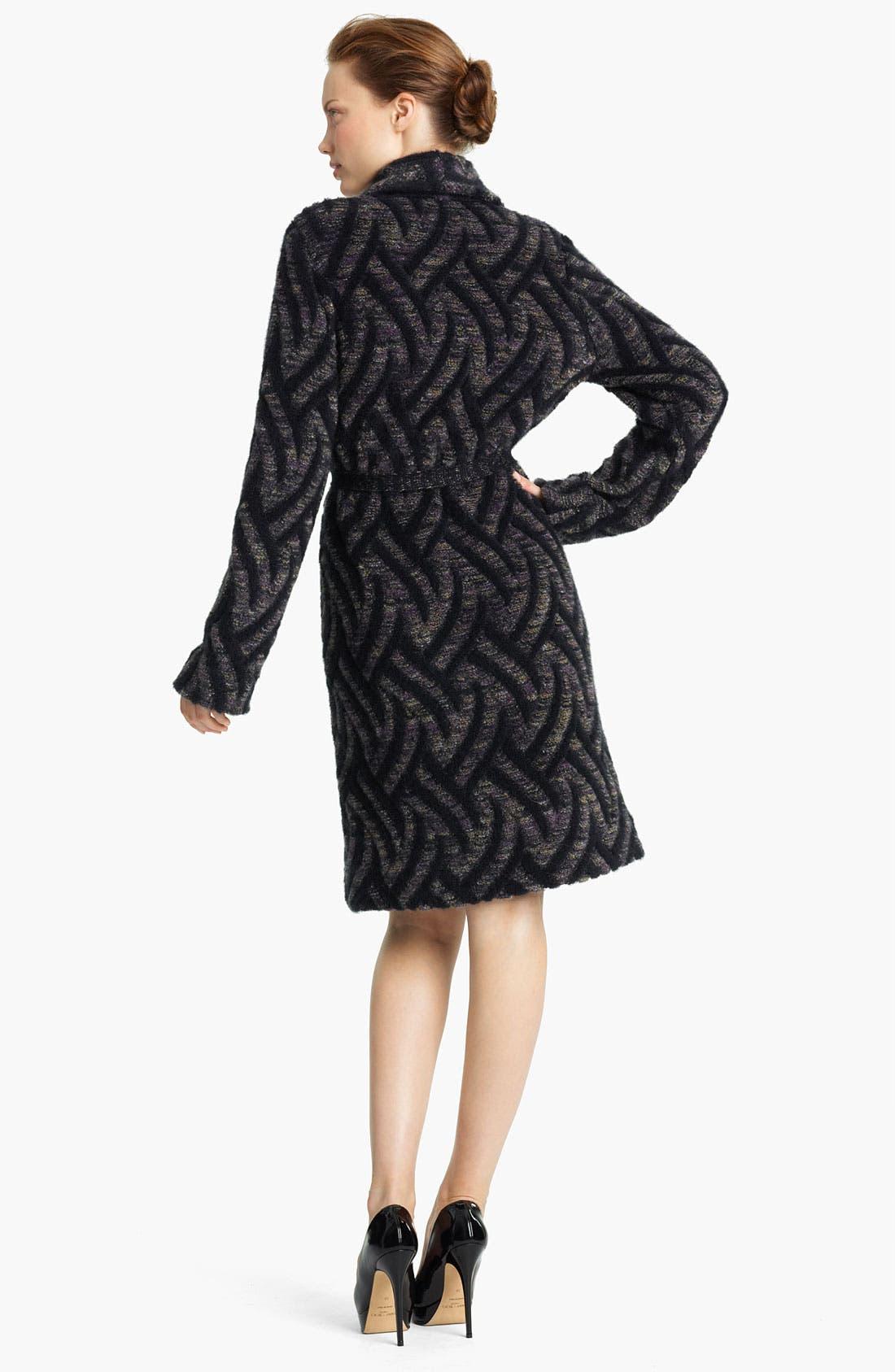 Alternate Image 2  - Missoni Long Knit Coat