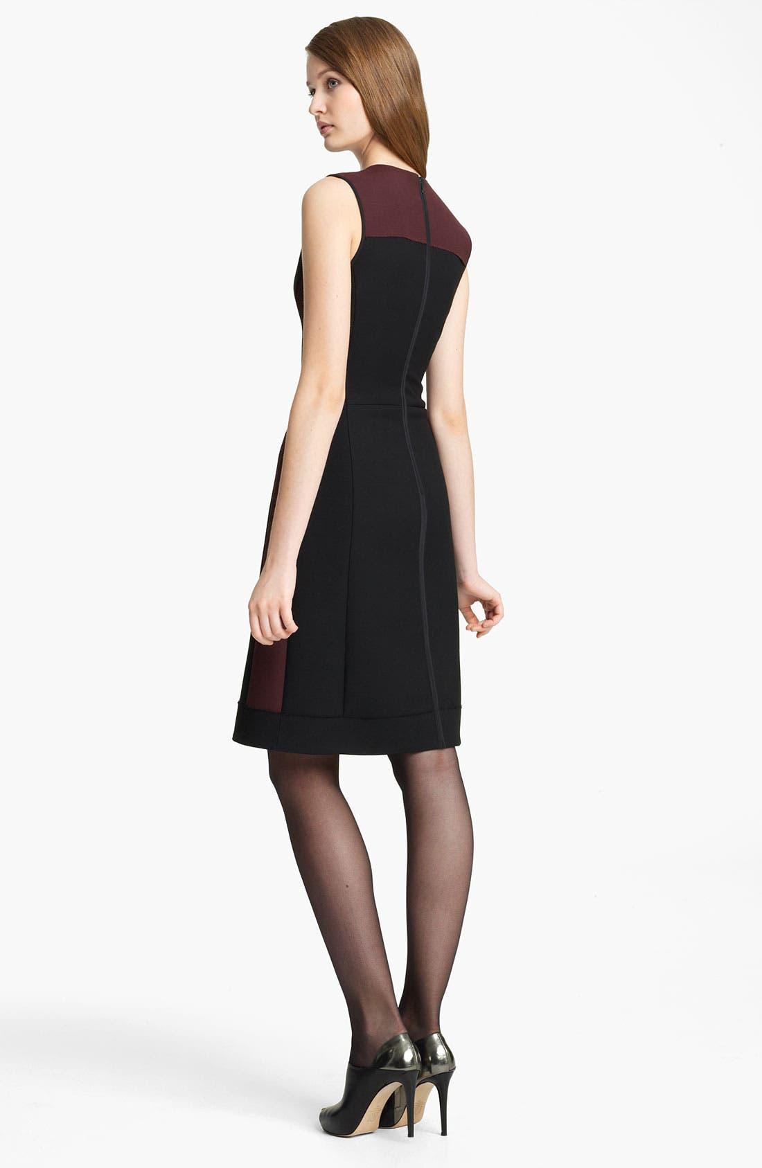 Alternate Image 2  - Reed Krakoff Paneled Wool Blend Dress