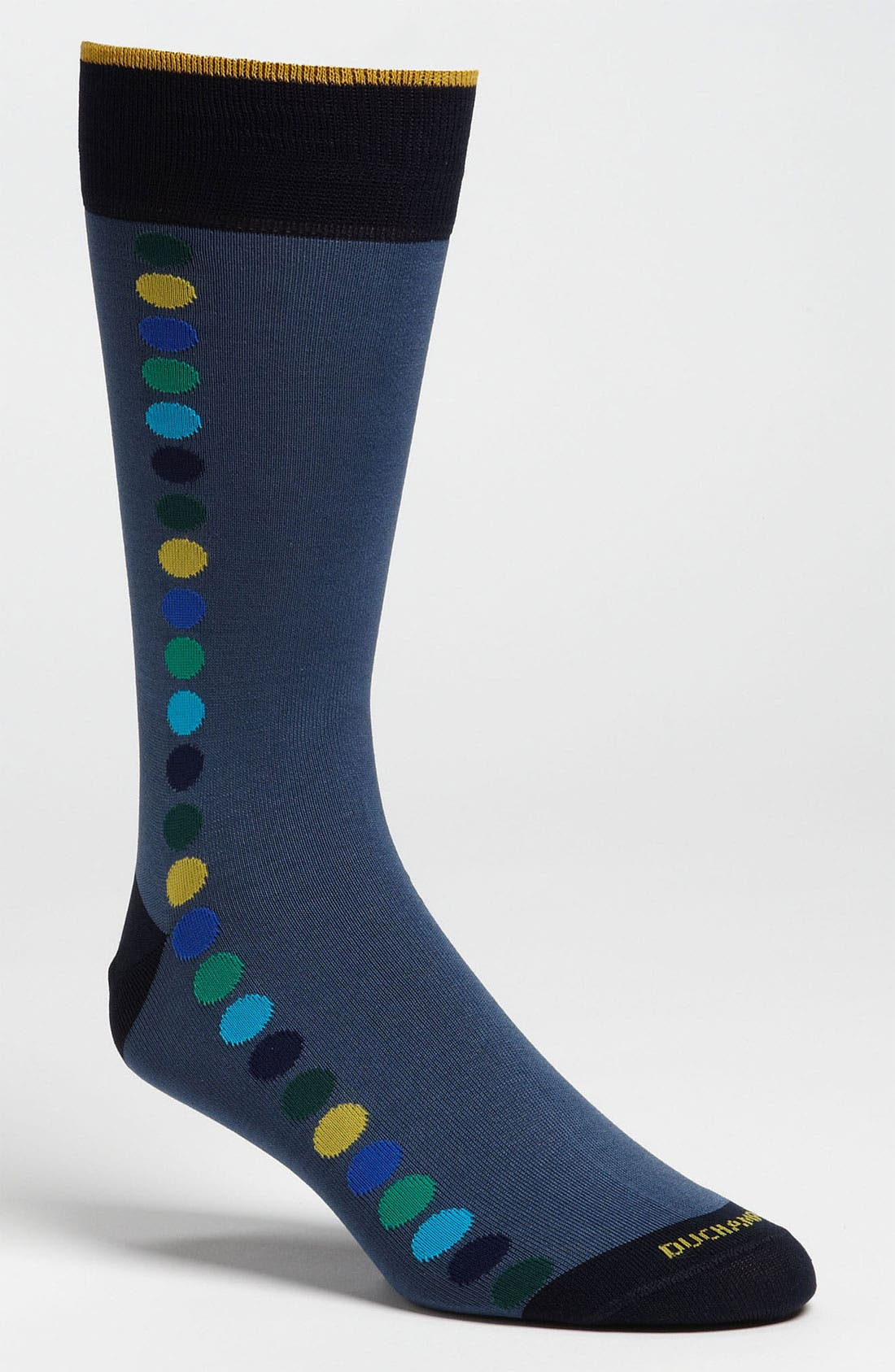 Main Image - Duchamp 'Vertical Spot' Socks
