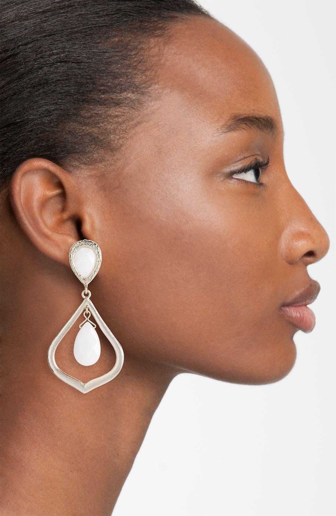 Alternate Image 2  - Kendra Scott 'Ryanne' Open Teardrop Statement Earrings