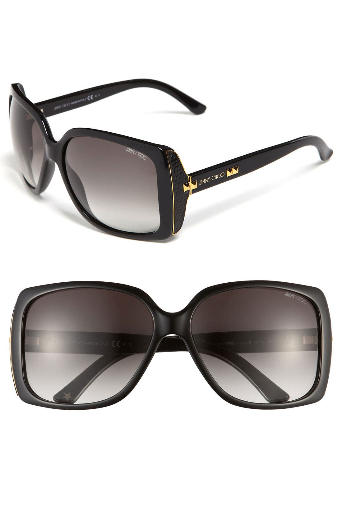 Alternate Image 1 Selected - Jimmy Choo 'Severine' Classic Sunglasses
