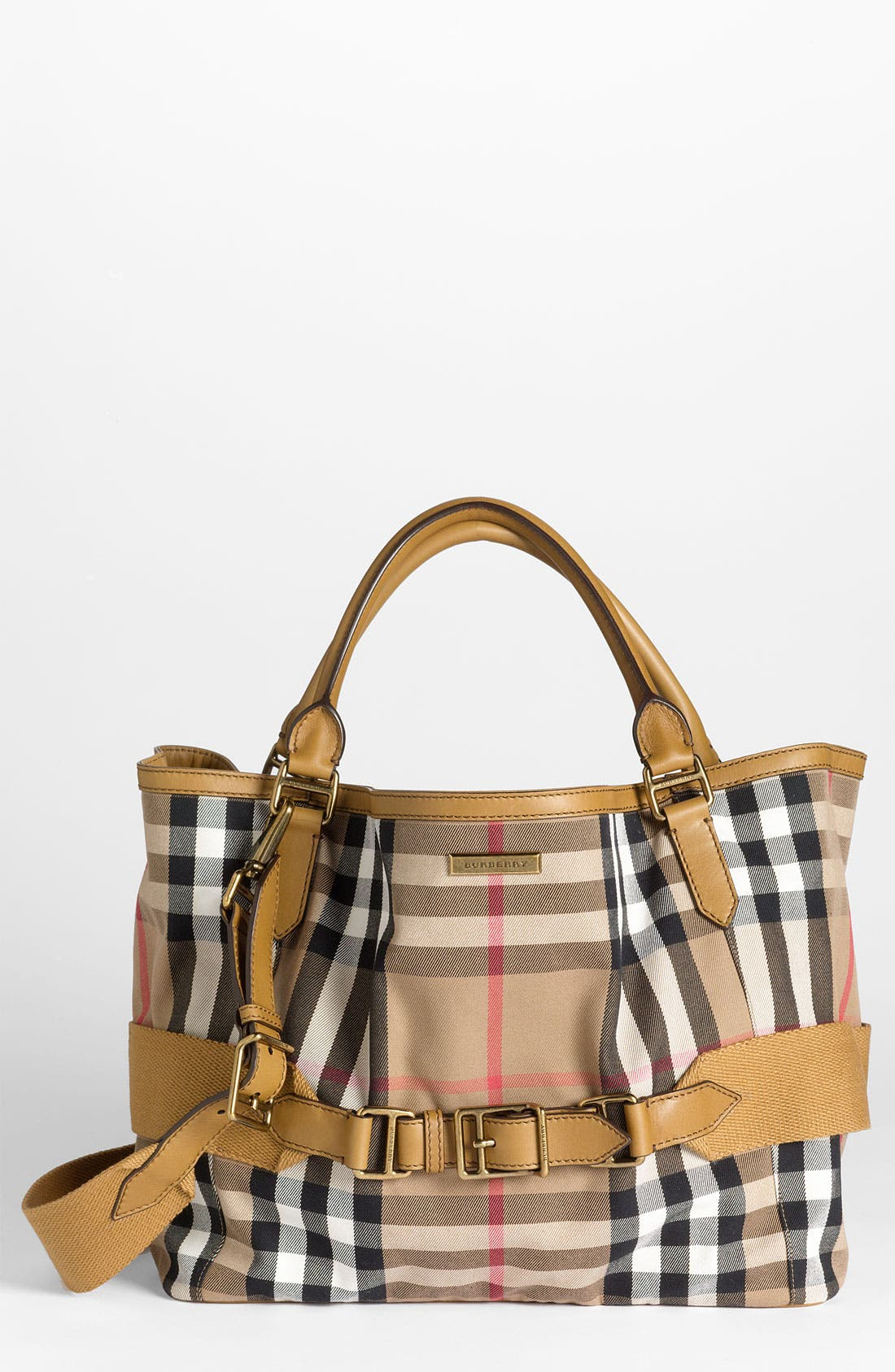 Main Image - Burberry 'House Check' Fabric Tote