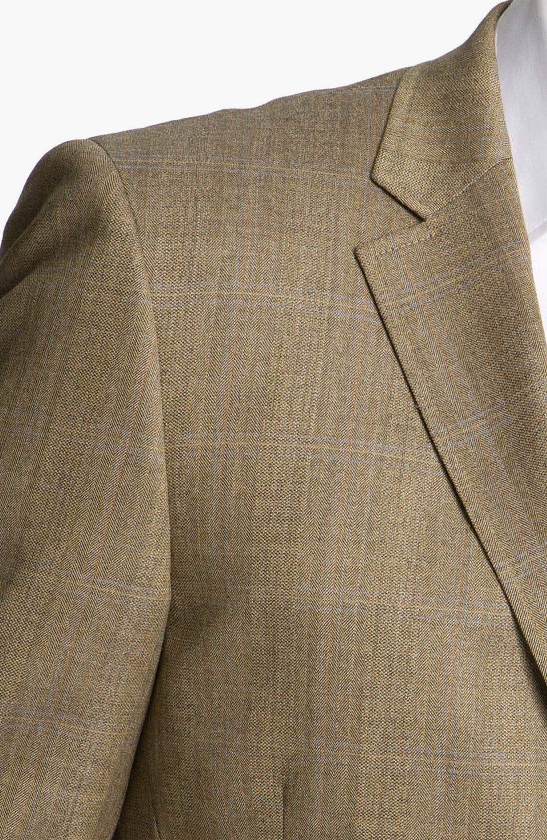 Alternate Image 3  - Di Milano Uomo Plaid Sportcoat