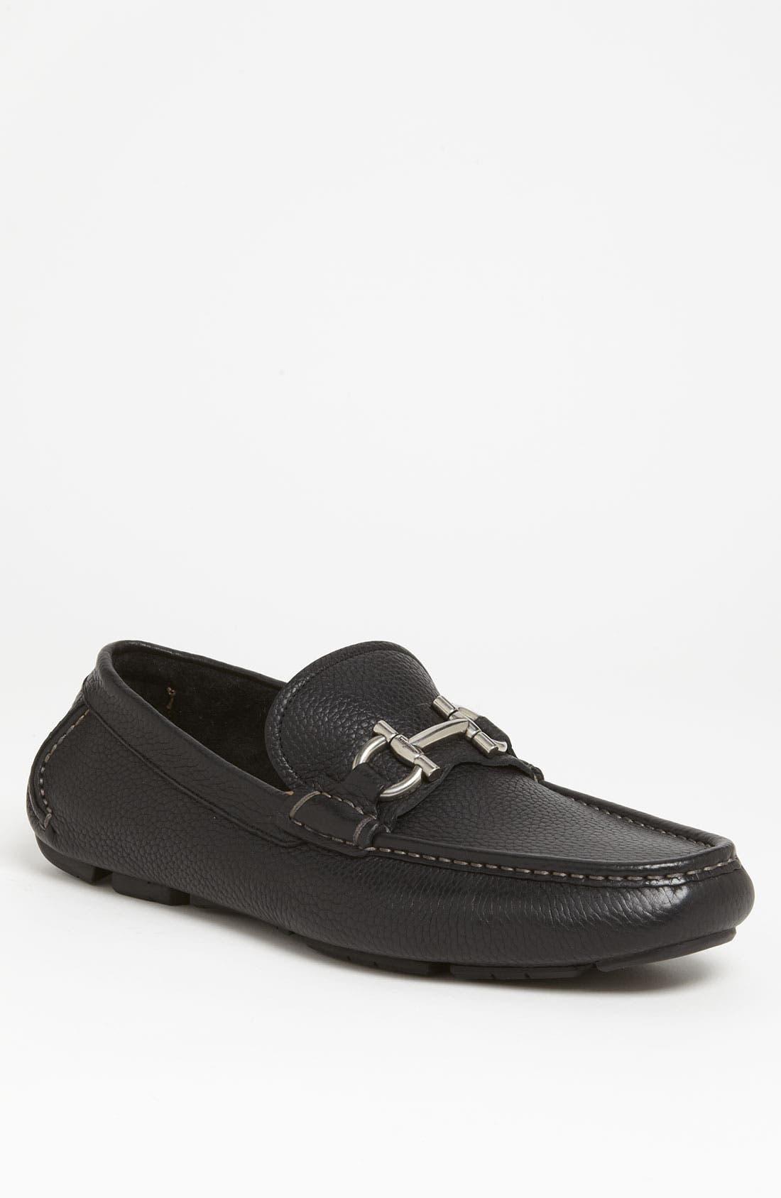 Alternate Image 1 Selected - Salvatore Ferragamo 'Daverio' Driving Shoe (Men)