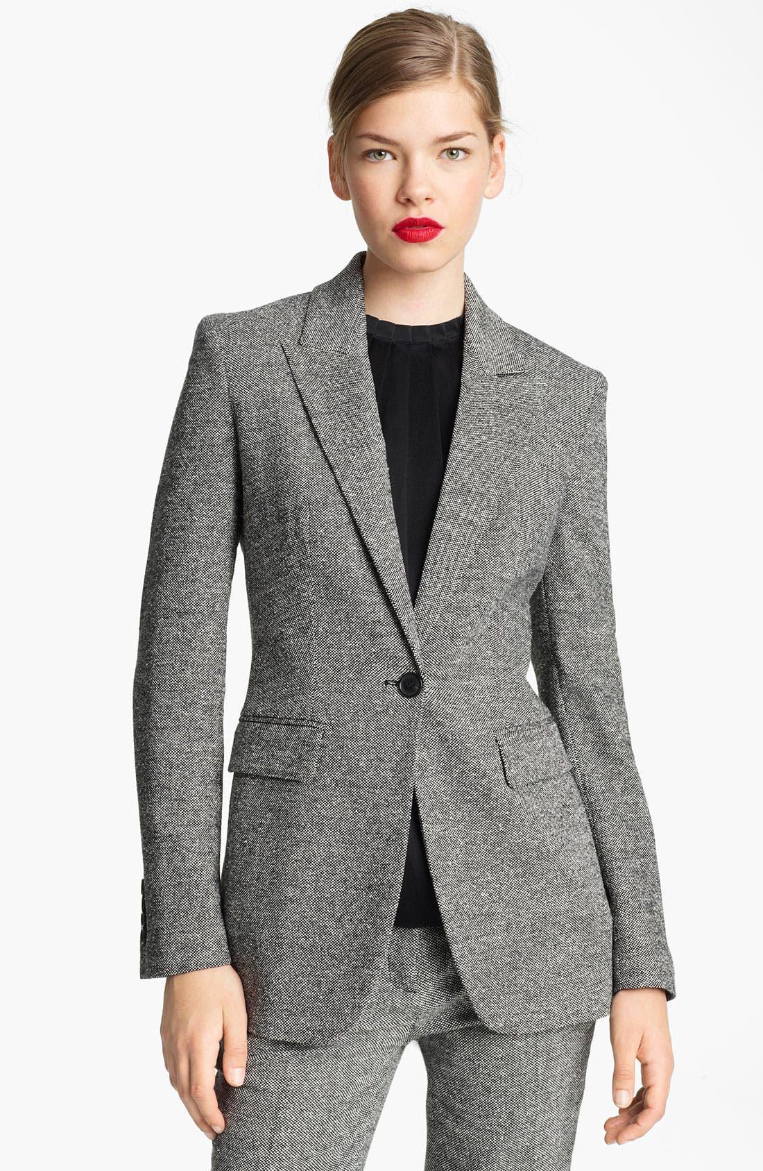 Main Image - Michael Kors Donegal Tweed Blazer