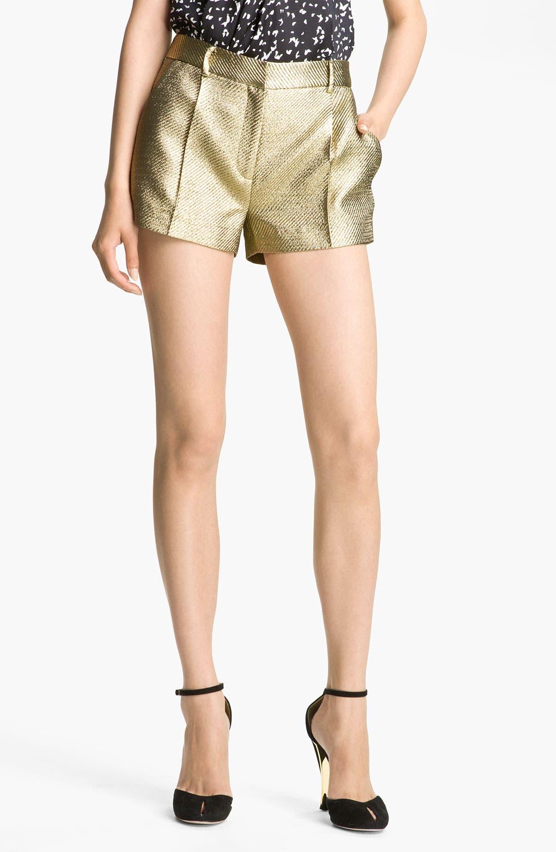 'Naples' Shorts,                             Main thumbnail 1, color,                             Gold