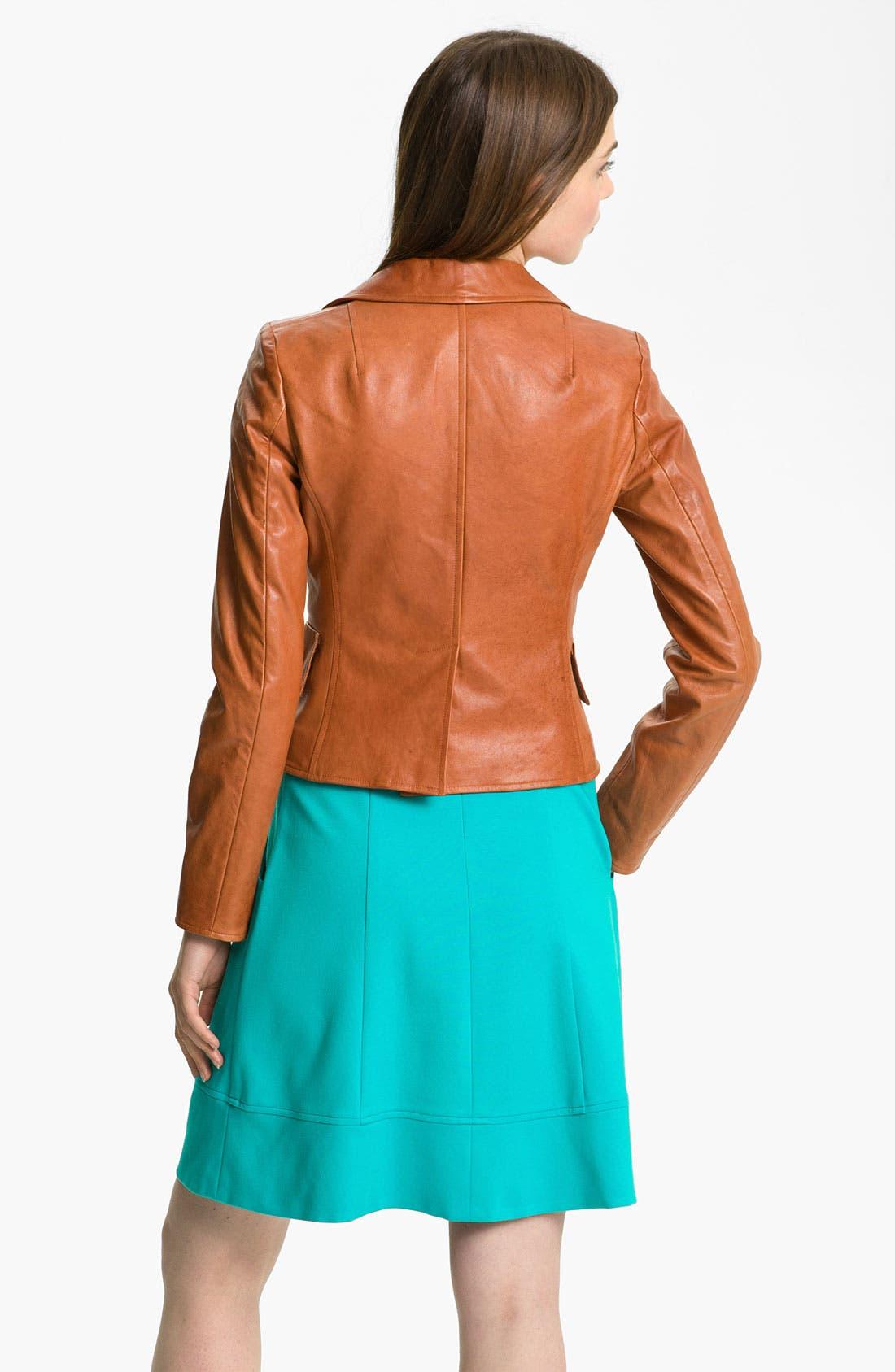 Alternate Image 2  - Nanette Lepore 'Mountain Top' Leather Jacket