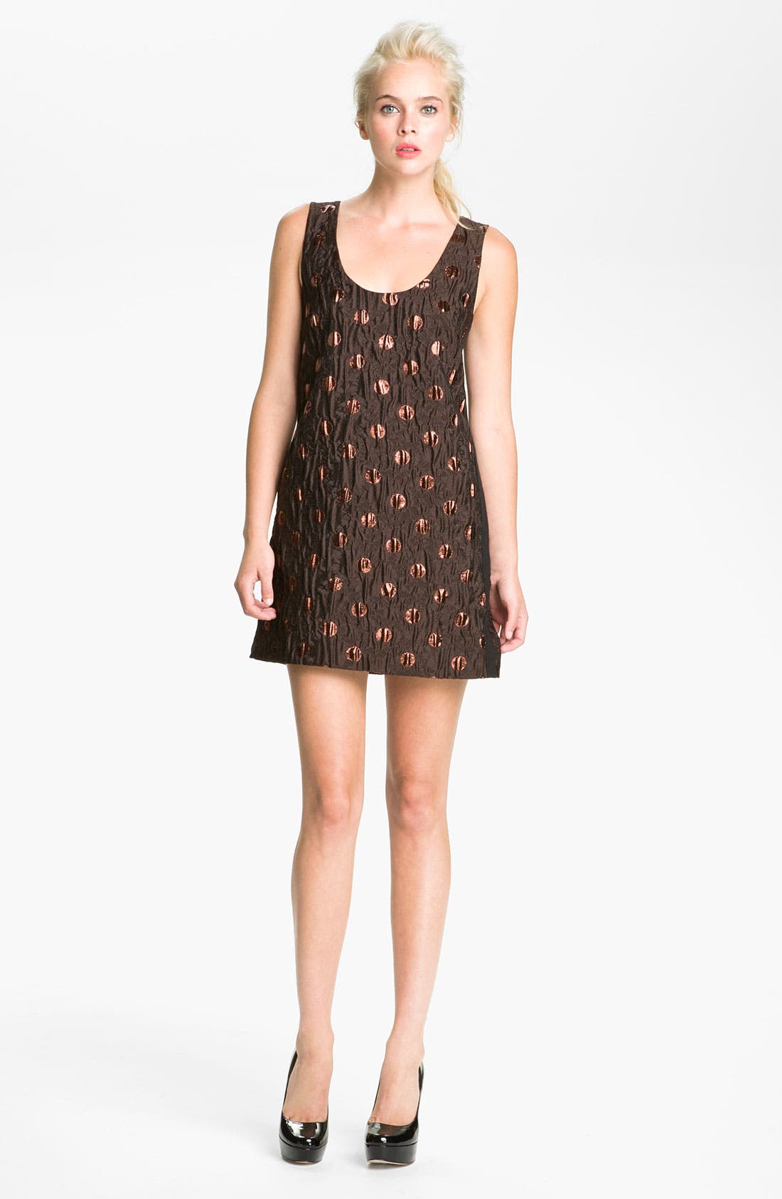 Alternate Image 1 Selected - MARC BY MARC JACOBS 'Clara' Dot Jacquard Dress