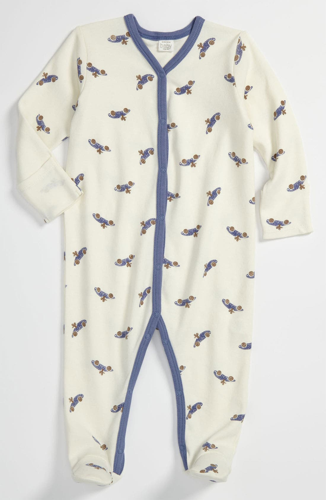 Main Image - Nordstrom Baby Print Footie (Infant)