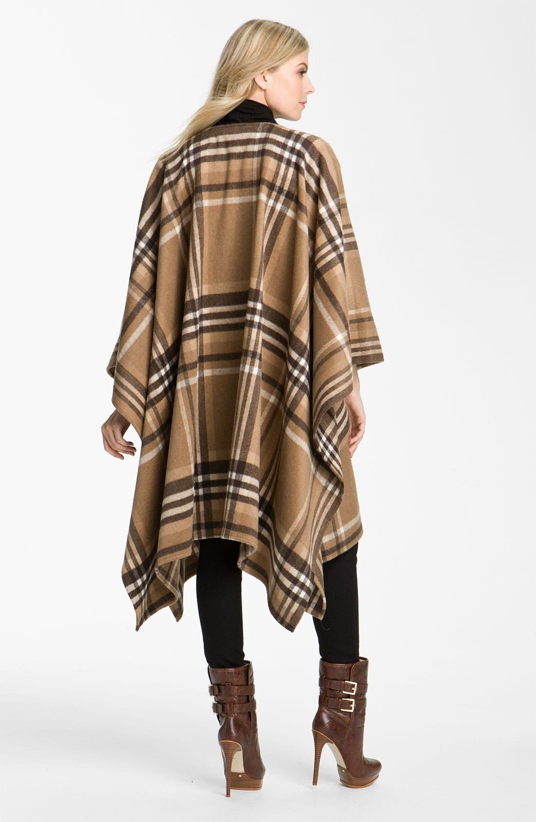 Alternate Image 2  - MICHAEL Michael Kors Buckled Blanket Coat