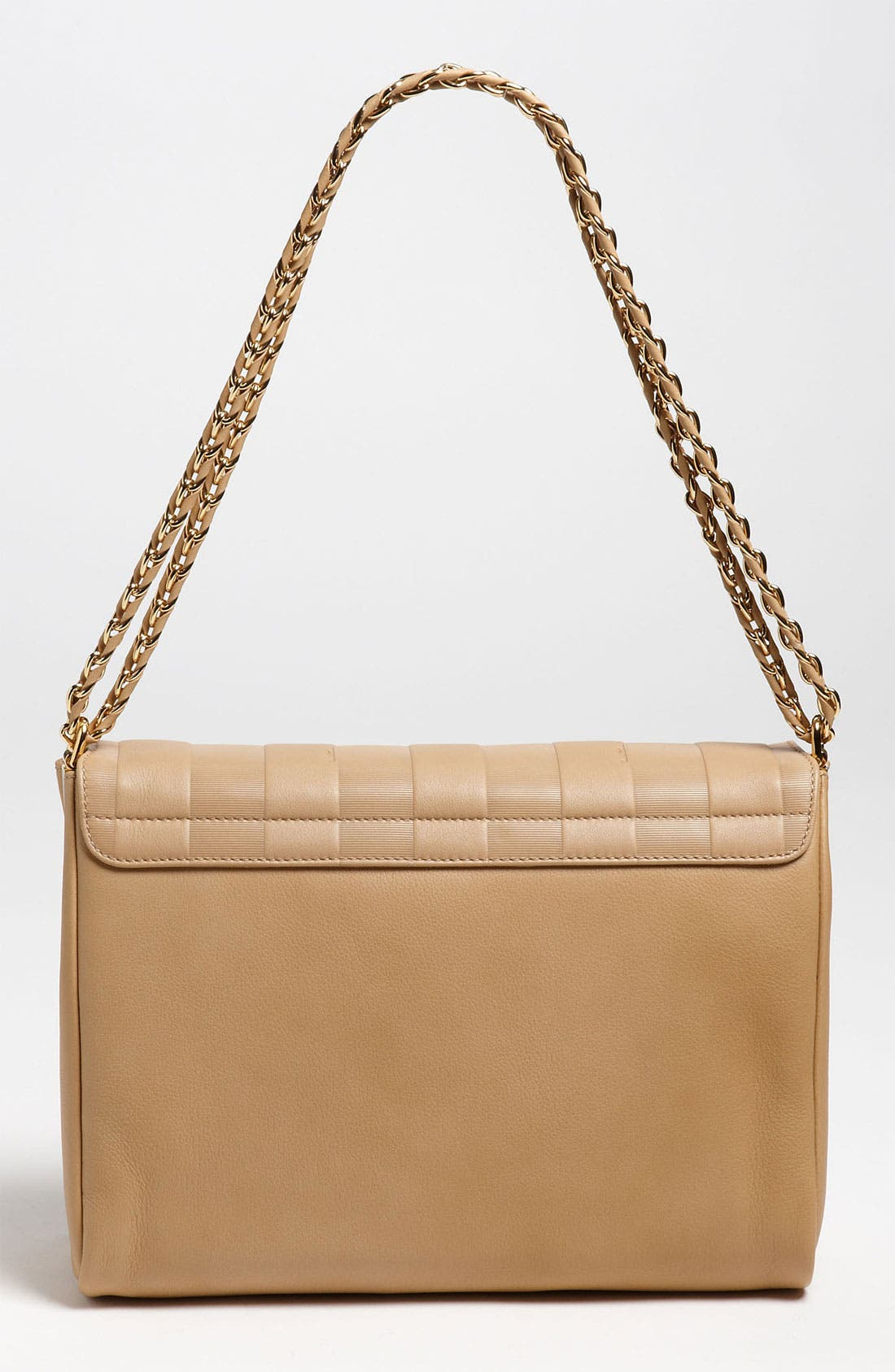 Alternate Image 4  - Fendi 'Paris Pequin - Large' Leather Shoulder Bag