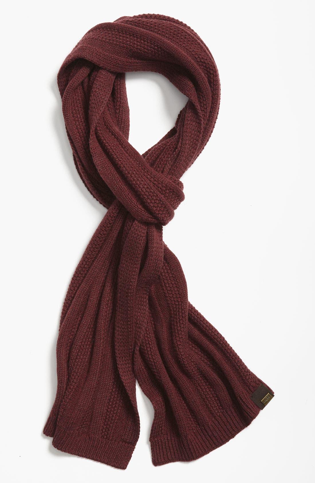 Main Image - UGG® Australia Textured Scarf