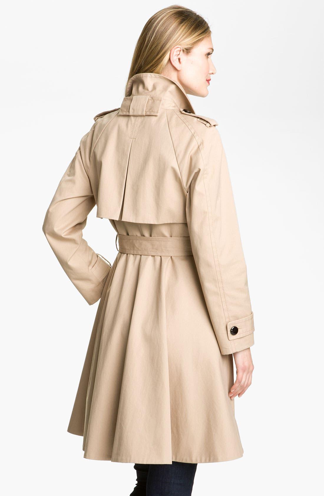 Alternate Image 2  - kate spade new york 'dianne' trench coat