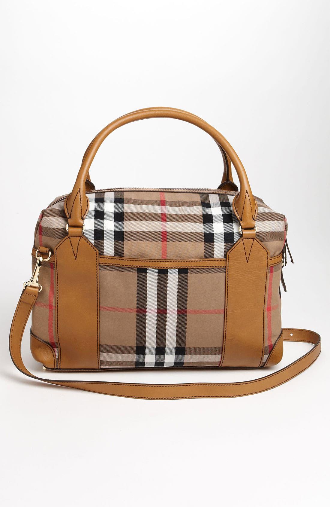 Alternate Image 4  - Burberry 'House Check' Diaper Bag