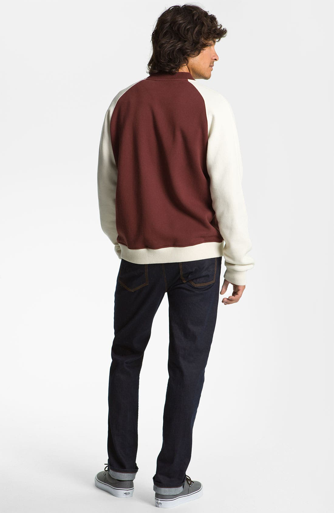 Alternate Image 4  - WeSC 'Balker' Varsity Jacket